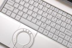 cześć srebrzysty celu laptop Obrazy Stock