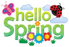 Cześć wiosna tematu wizerunek 3 Obraz Royalty Free