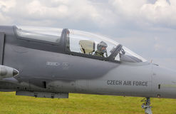 The Czech Air Force Aero L-159A ALCA (Advanced Light Combat Airc Stock Photography