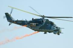 Czech Air Force Mi-35 - Radom Airshow - Poland Royalty Free Stock Photo