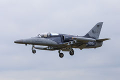 Czech Air Force training jet. Czech Air Force Aero L-39 Albatros jet trainer royalty free stock photography