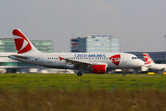 A320 Czech Airlines Photo stock