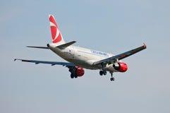 Czech Airlines Airbus A319 Fotografia de Stock