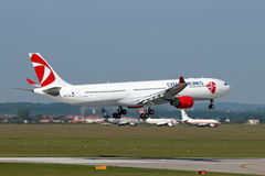 Czech Airlines Airbus 330-323X Images stock