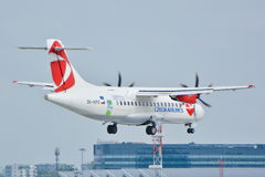 Czech Airlines plane Stock Photos