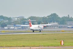 Czech Airlines plane Royalty Free Stock Photo