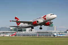 A320 Czech Airlines Stock Image