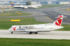 Czech Airlines Royalty Free Stock Photo