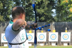 Czech archery Royalty Free Stock Images