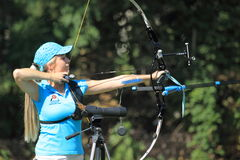 Czech archery championship 2012 Stock Photography