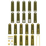 Czech army insignia Royalty Free Stock Photo