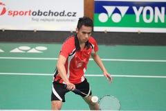 Czech badminton league - Viki Indra Okvana Stock Image