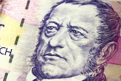 Czech banknote Stock Photography