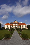 Czech beauty - chateau Jemniste. Chateau Jemniste - the first news of Jemnišsě dates back to the year 1381. At that time the owner of the manor was Beneš of Stock Photography