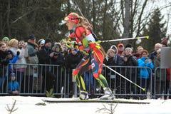 Czech biathlon star - Gabriela Soukalova Stock Images