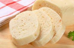 Czech bread dumplings Royalty Free Stock Image
