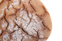 czech bread isolated Stock Photo