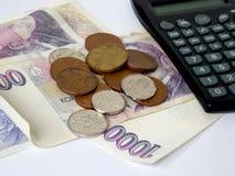 Czech cash Stock Photography