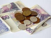 Czech cash Royalty Free Stock Photos