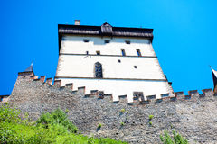 Czech Castle Karlstejn Royalty Free Stock Image