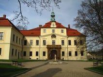Czech castle Mirosov Stock Photography