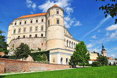 Czech chateau, architecture Stock Photos