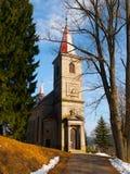 Czech christian church Stock Photography