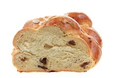 czech christmas bread Royalty Free Stock Image