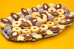Czech Christmas cookies royalty free stock image