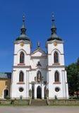 Czech church Stock Photos
