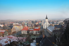 Czech city Royalty Free Stock Image