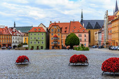 Czech City of Cheb Royalty Free Stock Photo