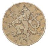 Czech coin Stock Photo