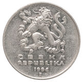 Czech coin Stock Photos