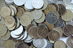 Czech coins Royalty Free Stock Photos