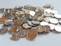 Czech coins Royalty Free Stock Images