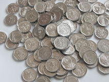 Czech coins Stock Images