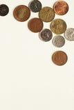 Czech coins Royalty Free Stock Photos