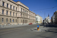 Czech constitutional court building in Brno. Royalty Free Stock Image