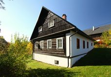 Czech cottage Stock Images