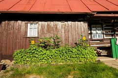 Czech cottage Royalty Free Stock Photography