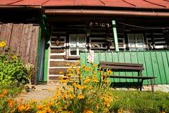 Czech cottage Stock Image