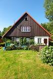 Czech cottage Stock Photography