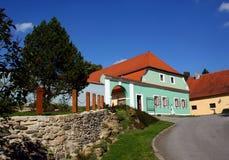 Czech countryside farm Stock Image