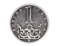 Czech crown Stock Photos
