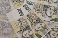 Czech Crowns Currency Royalty Free Stock Photo