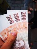 600 Czech crowns royalty free stock photo
