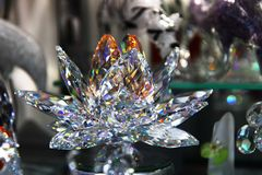 Czech crystal glass Royalty Free Stock Image