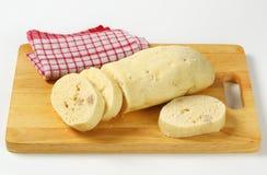 Czech cuisine - Raised bread dumplings Royalty Free Stock Photo