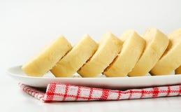 Czech cuisine - Raised bread dumplings Royalty Free Stock Photos